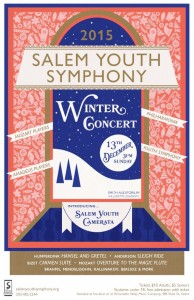 2015 Winter Concert Poster